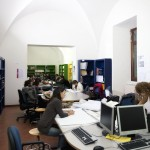 studenti in bliblioteca